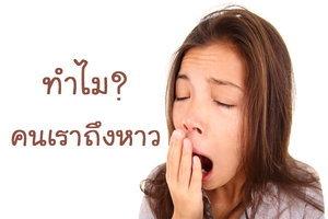 อาการหาว เกิดจาก