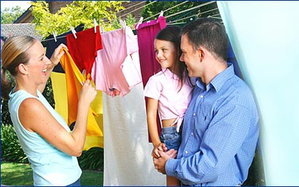 การดูแลเสื้อผ้า